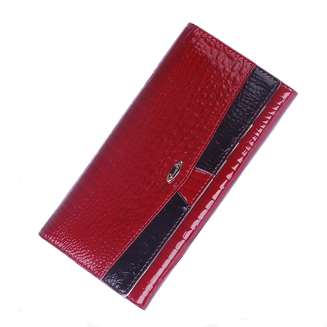 2017 new famous brand women wallets genuine leather coin purse luxury brand ladies real leather wallet long fashion purses