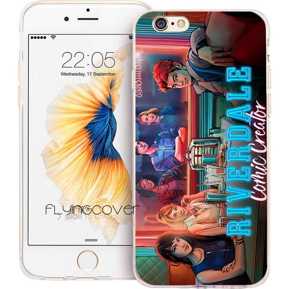 Coque Riverdale TV Capa Clear Soft TPU Silicone Phone