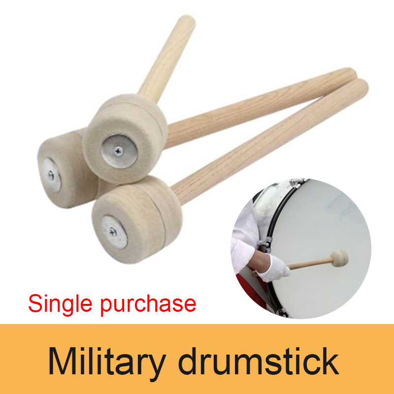 Drum Stick Wood Drumstick Soft Education Art Musical Instruments Instrumental Performance Percussion Instrument Practical