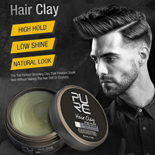 Hot PURC Strong Styling Head Oil Clay Coloring Hair Styling Wax High and Low Light Hair Clay Men's Hair Styling