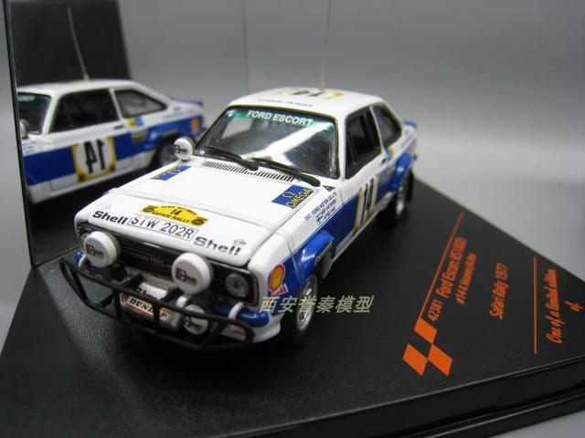 VITE SSE 1:43 Ford ESCORT RS1800 alloy model Car Diecast Metal Toys Birthday  Gift For Kids Boy