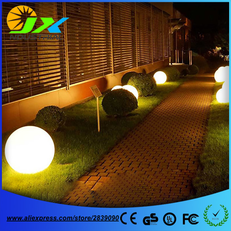 Diameter 30cm/40cm/50cm landscape garden lamp grass lawn lamp ball lighting /rechargeable уровень 30cm 40cm 50cm