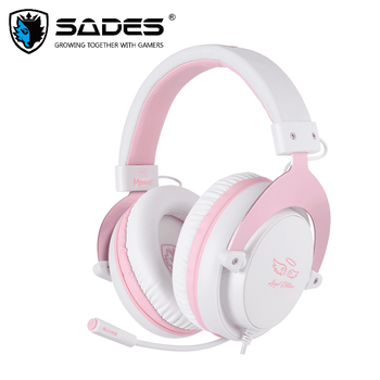 SADES Gaming Headset Headphones 3.5mm Mpower For PC/Laptop/PS4/Xbox One(2015 version)/Mobile/VR/Nintendo Switch 1