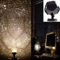 Fantastic Astro Star Laser Celestial Projector Cosmos Night Light DIY SKY Lamp Romantic Sleep Atmosphere