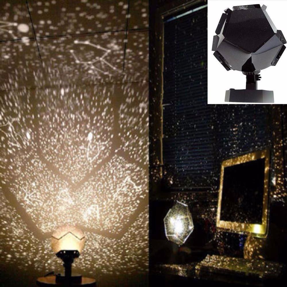 Fantastische Astro Stern Laser Celestial Projektor Cosmos Nachtlicht DIY SKY Lampe Romantische Schlaf Atmosphäre
