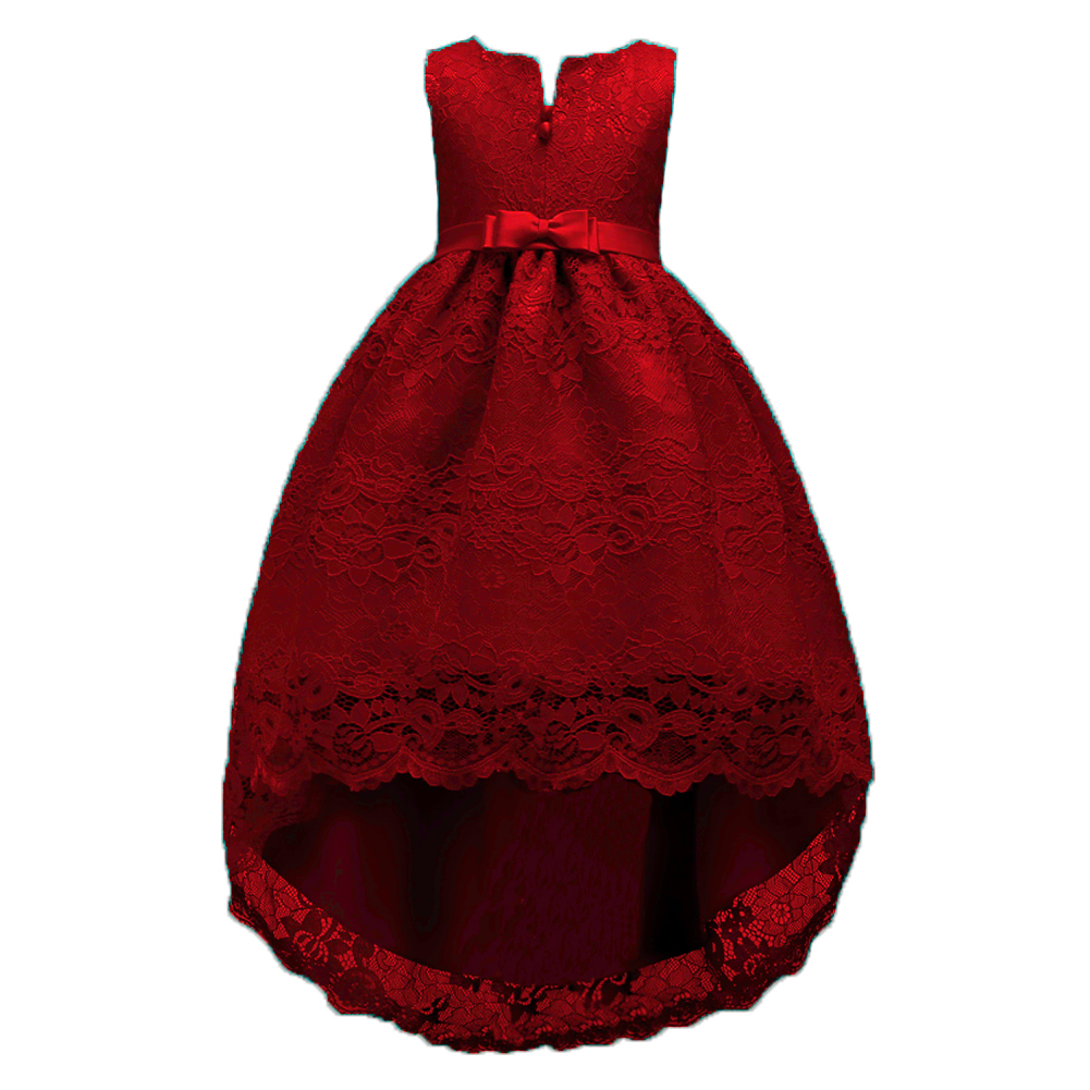 2098fdd43cab Detail Feedback Questions about Teen Girls Royal Blue Wine Burgundy Dresses  Kids Short Long Back High Low Dresses for Juniors Clothes for Party and  School ...