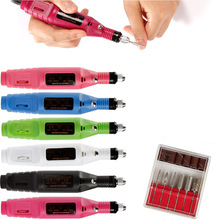 Electirc Apparatus for Manicure Nail Drills Cuticle Gel Remover Pedicure Machine Grinding Cutters Milling Drill Bits Set Nail недорого
