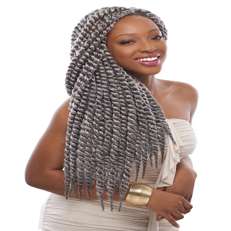 Havana Mambo Twist Crochet Braid Hair 20\u0026quot; Synthetic Ombre