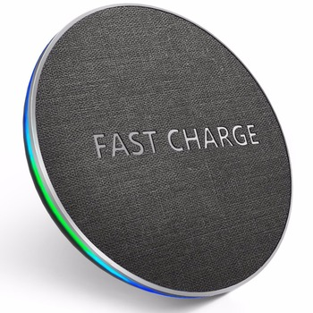 GETIHU 10W Qi Fast Wireless Charger For iPhone X XR XS MaX 8 Samsung Note 8 S8 S9 Plus S7 S6 Edge Phone Wireless Charging Charge