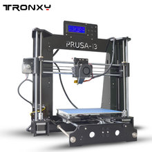 Tronxy X6D Acrylic Structure Size 220*220*180mm Double Fans DIY 3D Printer Kit With 1 Roll Free Filaments 8GB SD Card As Gift