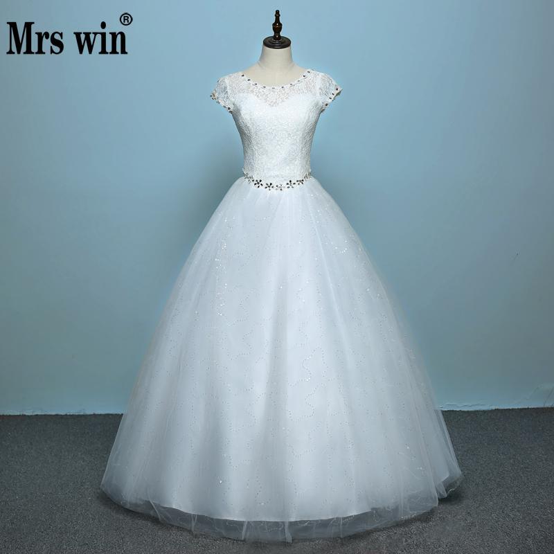 Robe de mariage style coréen