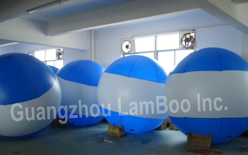 Лидер продаж синий гелием воздушный шар надувной рекламы с вашим специальным логотипом для событий, выставки, продвижение