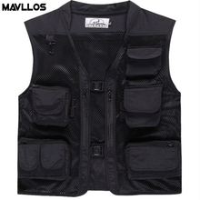 Mavllos Summer New Outdoor Life Vest For Fishing Photography Vest Multi Pack Fly Fishing Vest Backpack For Men Life Jacket Cloth