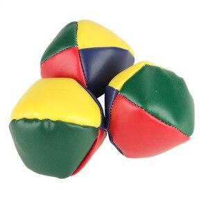 Image 5 - 3pcs Juggling Balls Sport Set Classic KidsSmall Bag Ball Game Juggle Magic Circus Beginner Kids Indoor Outdoor Beach Balls Toy