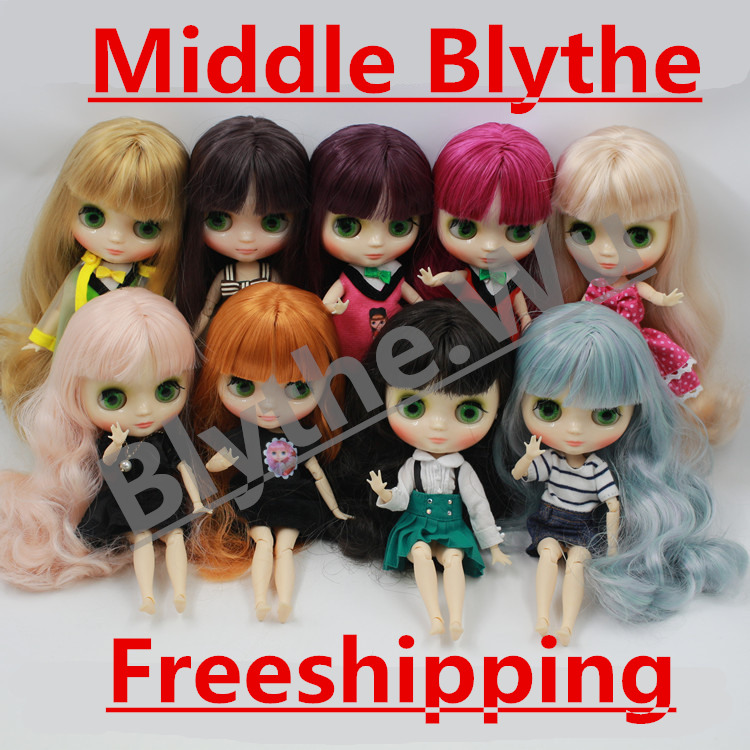Free shipping Middie blyth Doll Toy Gift Doll is selling nude naked doll 20cm 1/8 doll hands as gifts цена