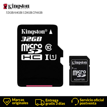 Micro Sd Karte 32gb.Kingston Technologie Micro Sd Karte 32 Gb 16 Gb 64 Gb 128 Gb Microsdhc Speicherkarte Class10 Uhs I Tf Karte Lesen Karte Mit Sd Adapter