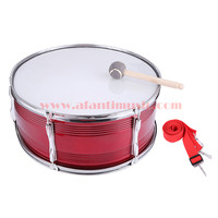22 Inch Red Afanti Music Bass Drum BAS 123