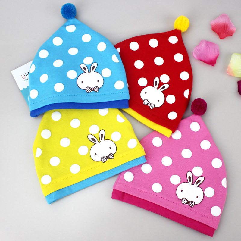 2017 fashion spring baby hats knitted warm cotton toddler beanie baby girl boy kids winter Cap boy 0~6m