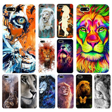 039FG Big Lion On Stone snow Soft Silicone Tpu Cover Case for huawei Honor 7a 5.45 pro 5.7 7c 7x y5 2018 case(China)