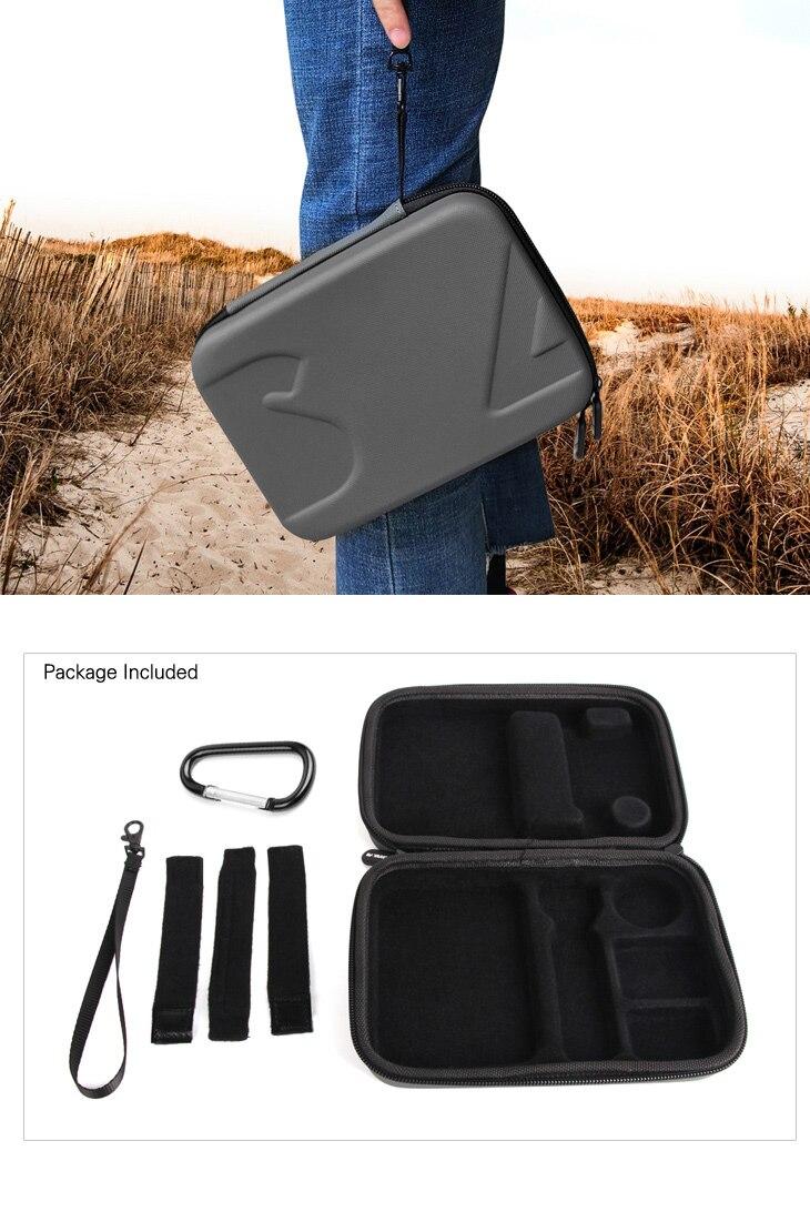 Sunnylife DJI Osmo Pocket Bag Handheld Gimbal Camera Stabilizer Box Carry Portable Case for DJI Osmo Pocket Gimbal Accessories 7