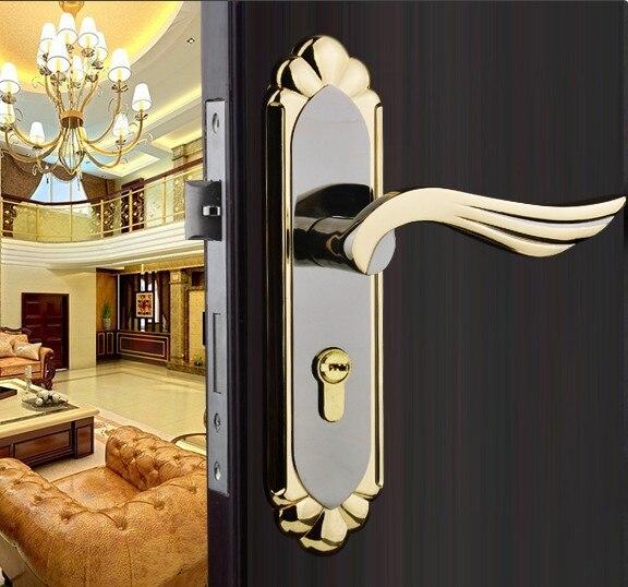 2014 New Stainless Steel Home Hotel Door Lock Handles For
