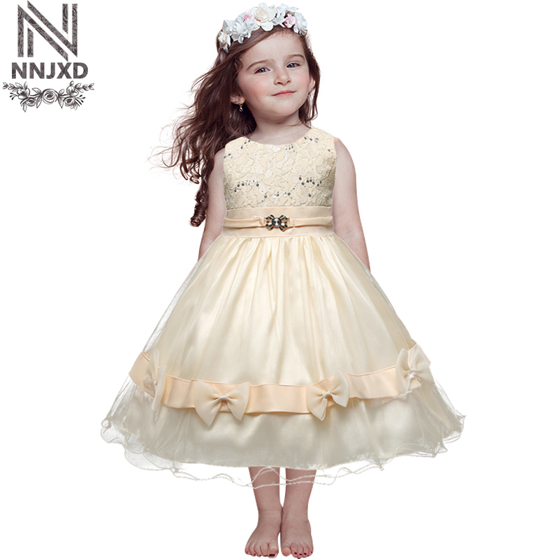 Elegant Girl Children Prom Designs Dress Disfraces Infantiles Princesa Vestido Kids Dresses For Girls Party Clothes Little Bebes