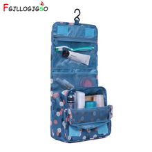 FGJLLOGJGSO Brand Waterproof Cosmetic bag Organizer Hanging Wash Toiletry Bag Bath Wash Makeup Bags new Travel pouch case Women 2019 new fashion travel wash bag men women toiletry organizer pouch cosmetic makeup case cosmetic bags