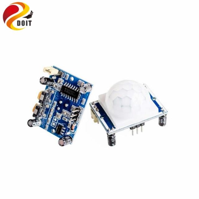 Free Shipping  1pcs High Quality HC-SR501 Infrared PIR Motion Sensor Module For Arduino Raspberry pi