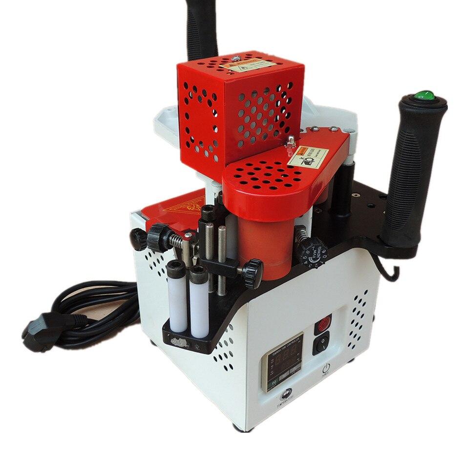 KM08 Portable Plaqueuse de chant machine à bois PVC plaqueuse de chants