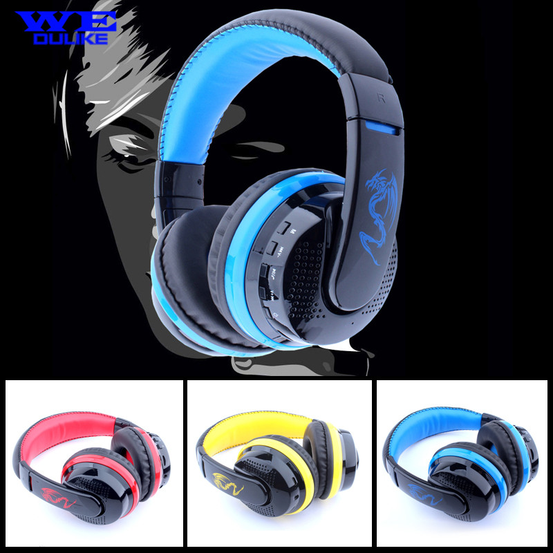 New!!! Original MX666 Stereo Bluetooth Gaming headset Wireless With MIC Support Hands-free TF Card FM Radio for Smartphones