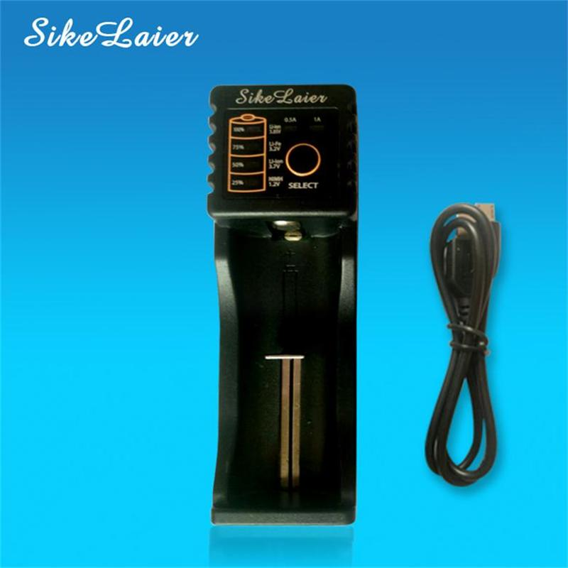Sikelaier SK-L110U 1.2 B 3.7 B 3.2 3.85 The AA / AAA 18650 18350 26650 10440 14500 16340 25500 nik lithium battery smart charger
