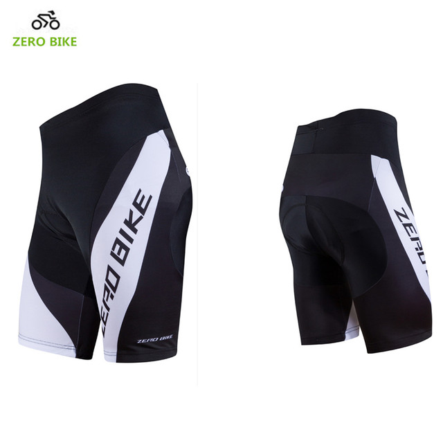 ZERO BIKE 2017 Men Summer Cycling Shorts Quick Dry Gel 3D Padded Breathable  Bermuda ciclismo MTB Bicycle Tight shorts e678bddae
