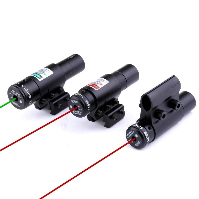 Rigoroso Nuovo 1 Pz All Metal Mini Infrarossi Mirino Laser Tubo Clip Versione Vista Del Laser Regolabile Su E Giù Sinistra E Destra Lente