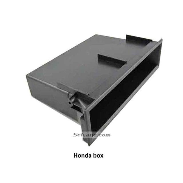en soldes 46d74 1f16e € 8.39 7% de réduction Seicane Multi Boîte De Rangement De Voiture De but  pour Honda Auto Stéréo Installation Modifiée Poche Organisateur Tiroir ...