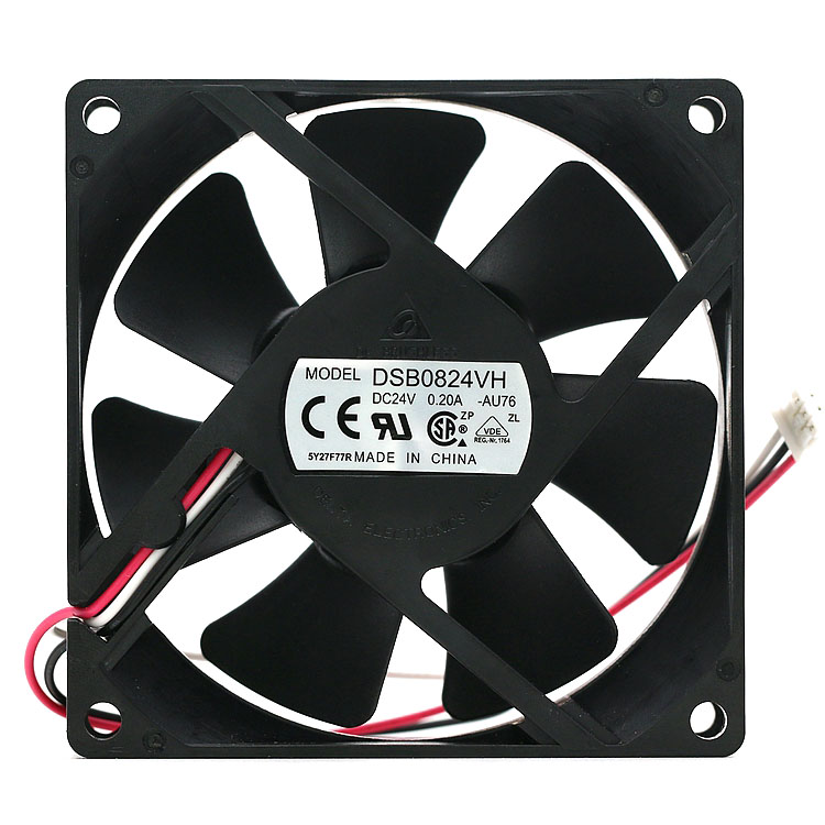 Brand new DELTA DSB0824VH-AU76 8025 DC 24V 0.A 8CM inverter server axial cooling fan