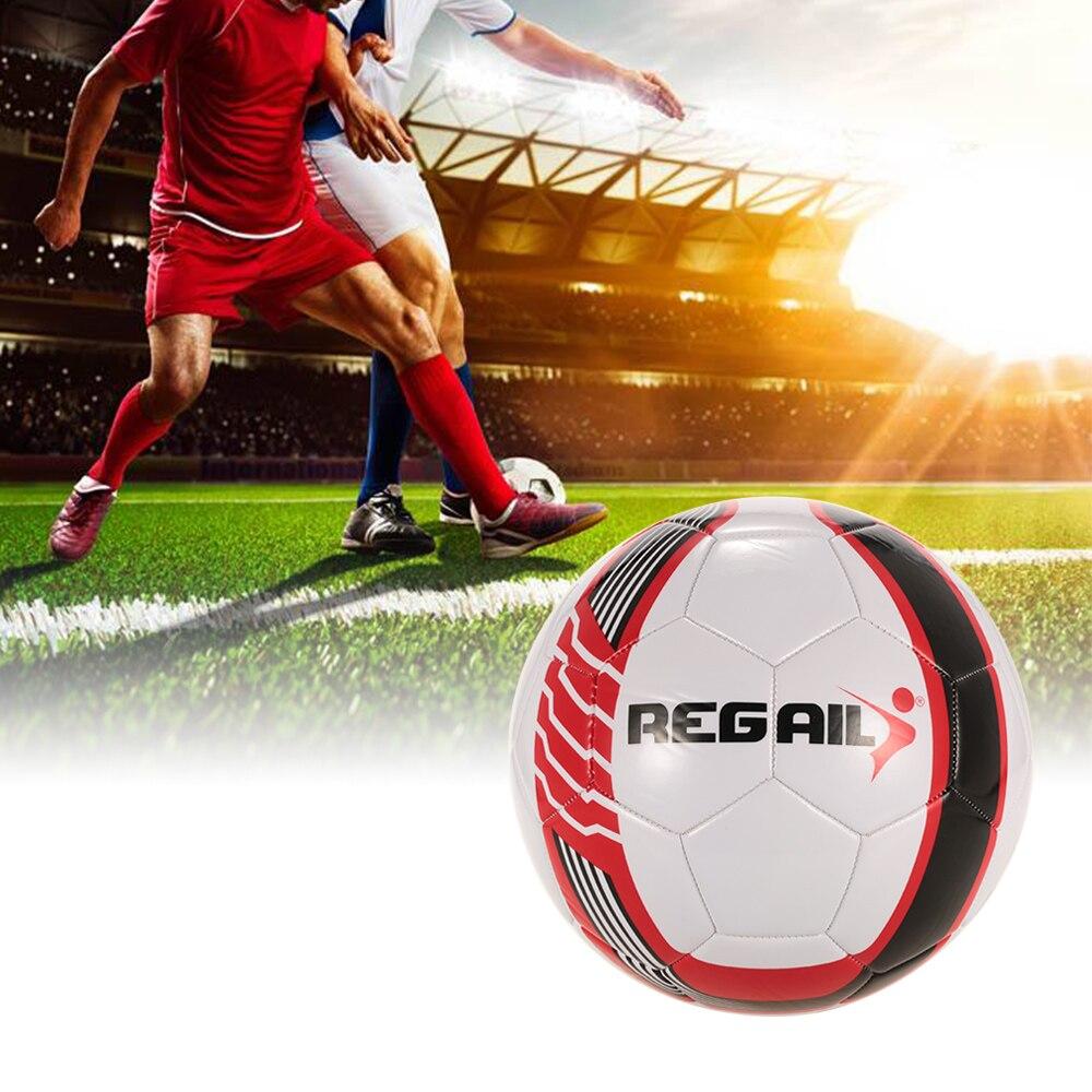 New Professional 5 Tamanho De Bola De Futebol Bola de Futebol PU Máquina de  costura Bola Bola Ao Ar Livre Interior do Futebol do Treinamento de Futebol  em ... 51598e3578684