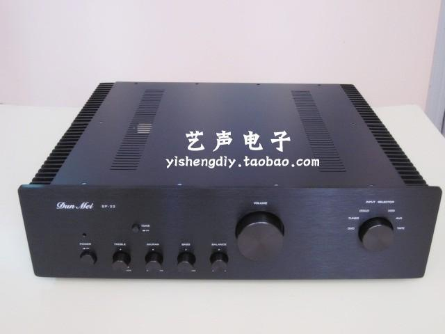 SP-telaio amplificatore/Dissipazione di Calore Esterno/Pre-amplificatore telaio/Custodia/case FAI DA TE