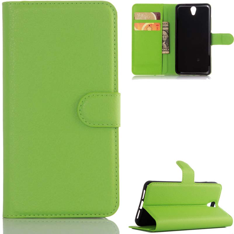 Lichi piel del teléfono billetera de cuero case para lenovo vibe (s1 p1 p2 c72 t