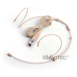 Image 2 - Iiimymic H 21S2 3 3pin Mini Xlr TA3F Connector Headset Headset Microfoon Voor Akg Samson Draadloze Body Pack Zender