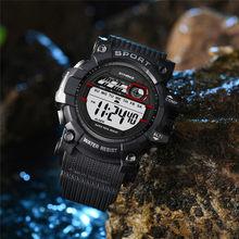 184721a82e60 SYNOKE reloj deportivo de lujo hombres LED Digital de doble acción  Multi-función de 30 M resistente al agua muñeca relojes reloj.