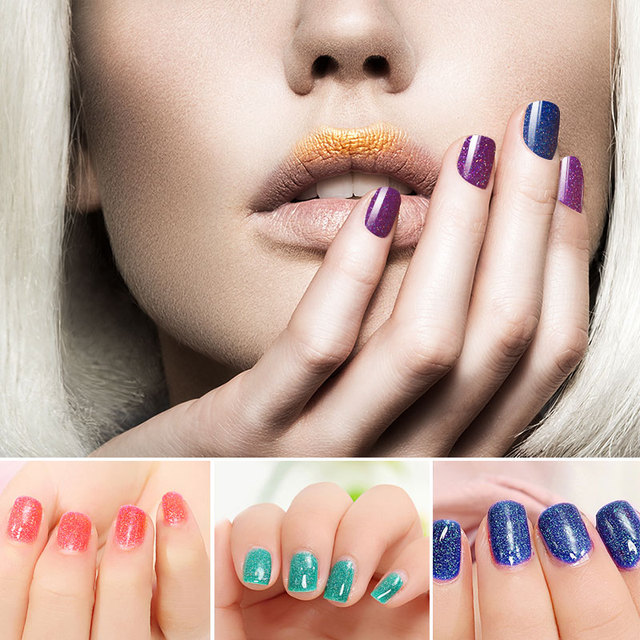 2016 Hot Halloween Gift Nail Gel Polish Soak Off UV Led Gel Nail Varnish Neon Nail Gel Need UV Lamp Cure Gel Polish