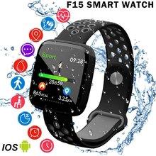 Get more info on the 1.3 Inch Colorful Screen F15 Smart Watch Fitness Bracelet Heart Rate Blood Pressure Blood Oxygen Monitor Waterproof Sport Wrist