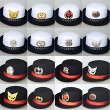 Полицейская шляпа, кепки, женская униформа, Соблазнительные костюмы, военные шапки, женская шляпа моряка, армейская Кепка, Авиатор, крученая Кепка