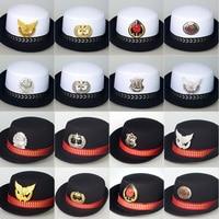 Police Hat Hats Cap Women Uniform Temptation Costumes Military Hats Female Sailor Hat Army Cap Pilot curling cap