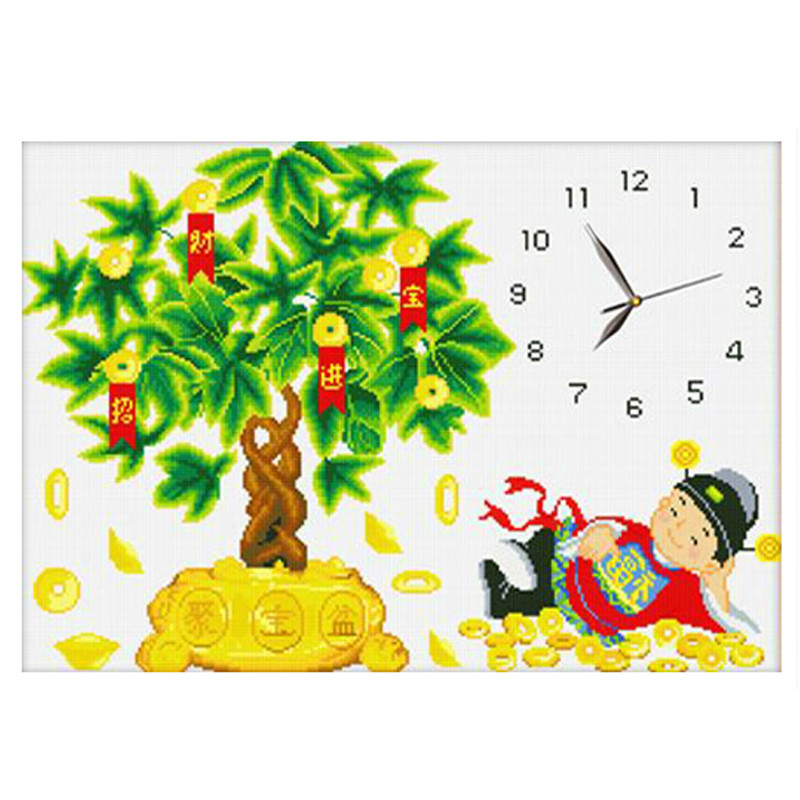 5D Diy Diamonds Painted Clocks & Watches Embroidery Cross-Stitch Embellished Rhinestones Decorating Christmas Gifts Custom Photo