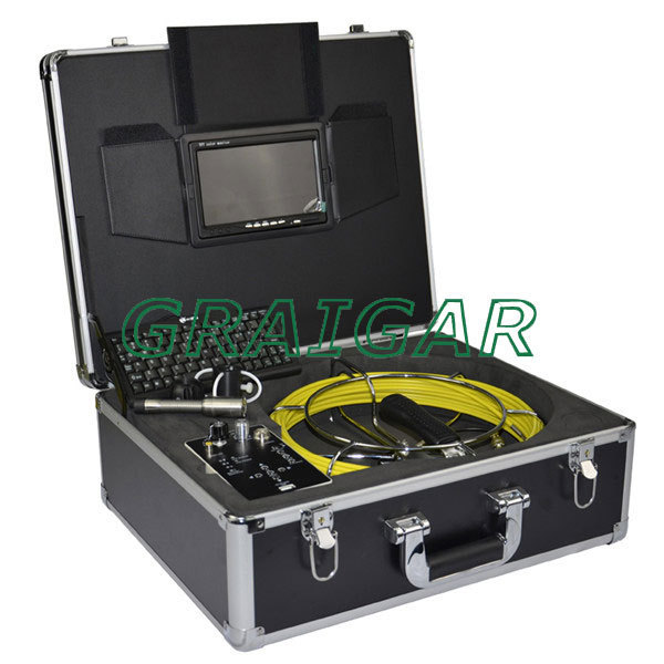 Pipe Inspection Camera Monitor Microphone Wall Inspection System Underwater Monitor EMS Fedex DH