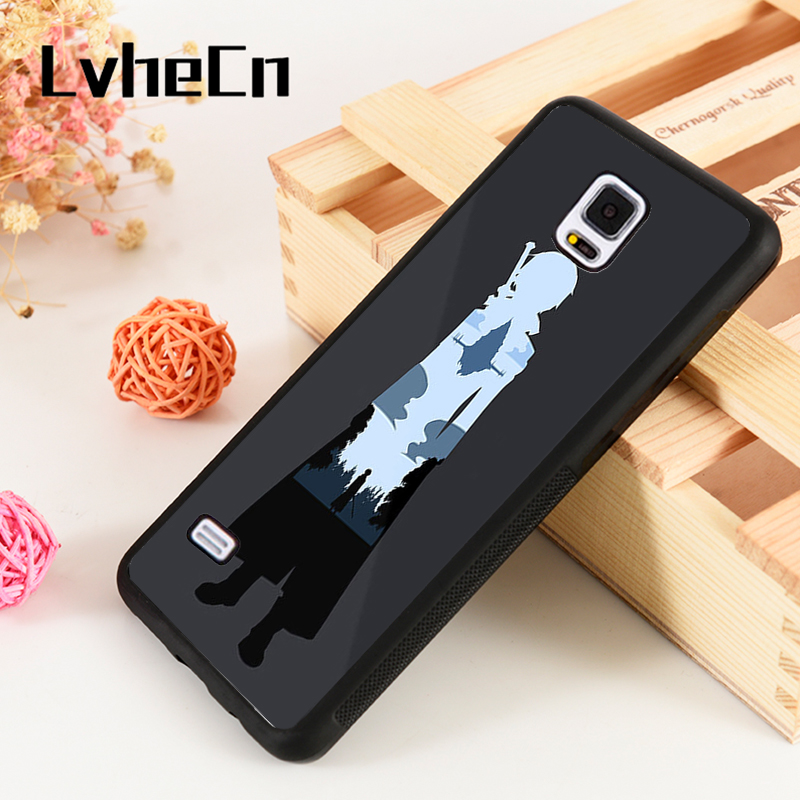 Lvhecn S3 S4 S5 Phone Cover Cases For Samsung Galaxy S6 S7 S8 S9 Egde Plus Note 4 5 8 9 Silicone Rubber Sword Art Online Kirito Good Companions For Children As Well As Adults Phone Bags & Cases
