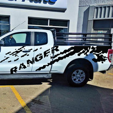 car accessories Mud graphic sticker with ranger body rear tail side vinyl for Ford 2012