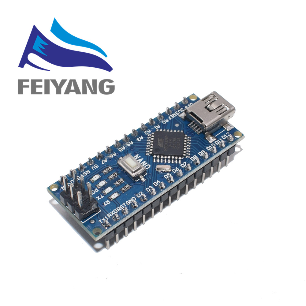 100PCS Nano 3 0 controller compatible with nano CH340 USB driver NO CABLE NANO V3 0