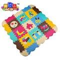 9 pçs/lote com vedação macia eva puzzle esteira do jogo do bebê tapetes tapete puzzle piso pad para jogos infantis SGS size32 * 32 cm